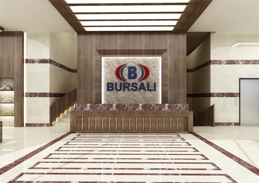 BURSALI A.Ş.  İÇ MİMARİ PROJELERİ